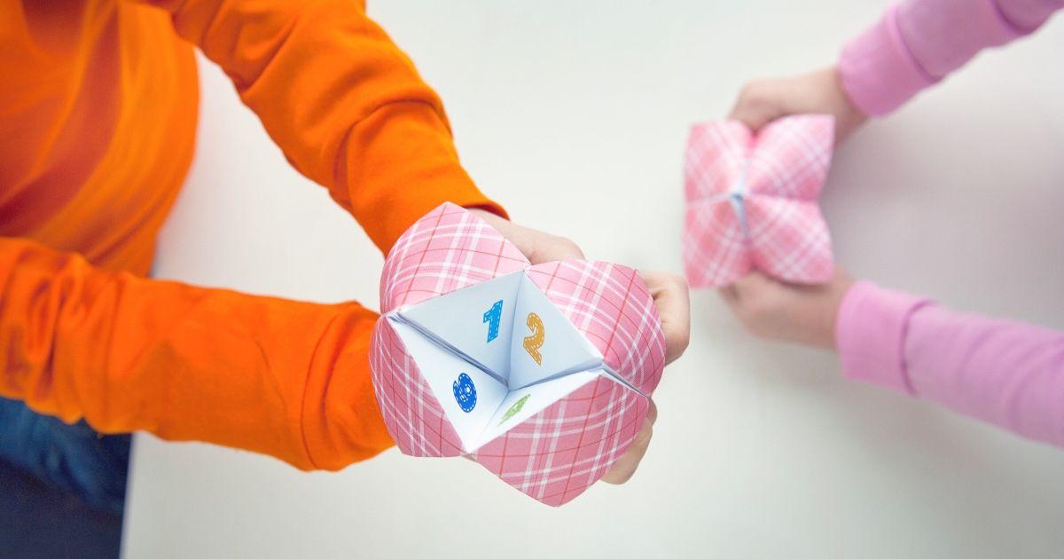 13 Papierspiele zum Spielen mit Ihren Kindern (einschließlich Mash)