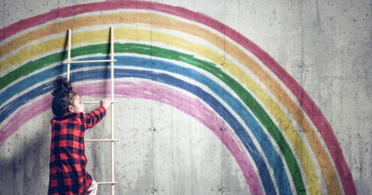 Disegni da colorare arcobaleno GRATUITI destinati a illuminare la giornata del tuo bambino