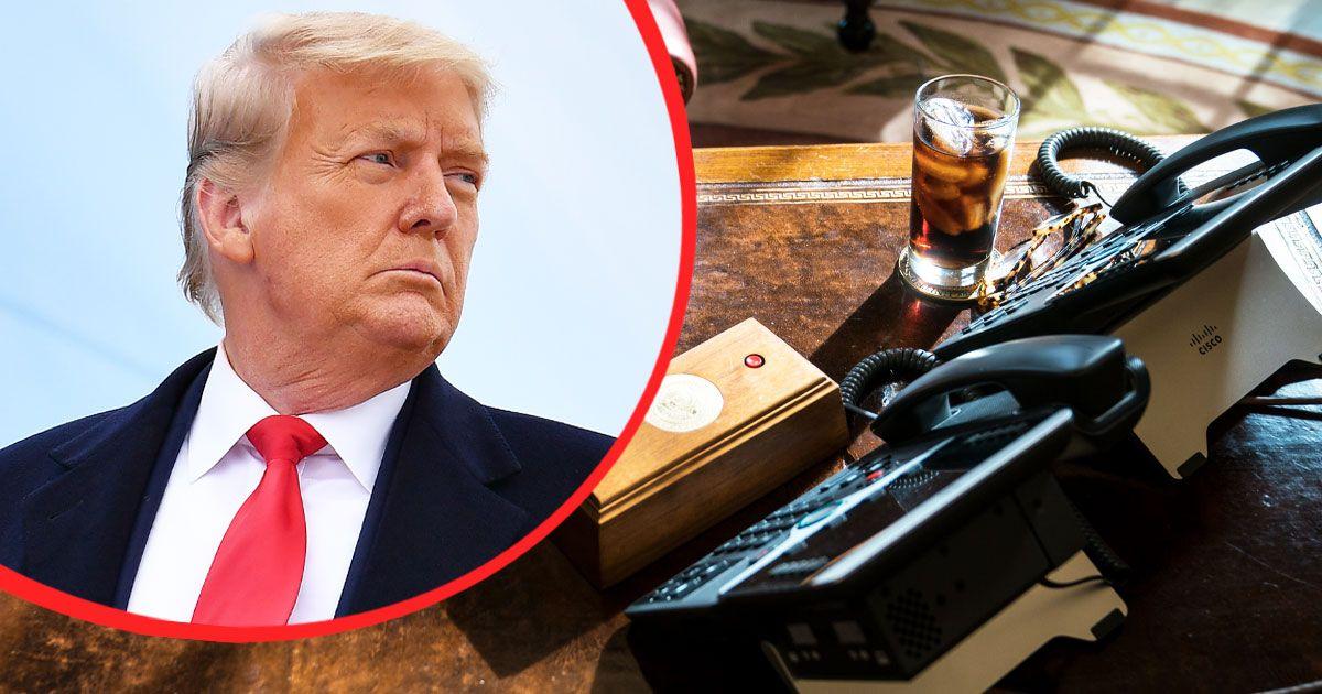 Joe Biden dobta Donald Trump őrült 'Diet Coke Buttonját'