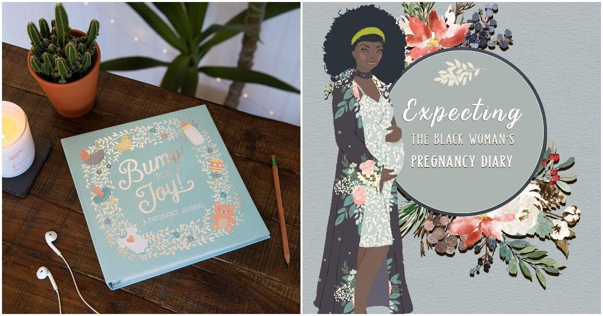 Die besten Schwangerschaftstagebücher 2021: Tagebücher, Sammelalben und Bump Books